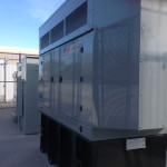 800 am back-up generator for all power at critical care facility.